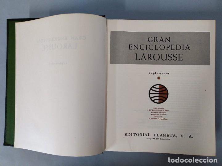 Enciclopedias de segunda mano: GRAN ENCICLOPEDIA LAROUSSE, COMPLETA (10 TOMOS + 1 SUPLEMENTO ) EDITORIAL PLANETA, AÑO 1977 ...L1725 - Foto 53 - 213229978