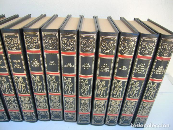 Enciclopedias de segunda mano: 15 tomos grandes civilizaciones desaparecidas - Foto 3 - 213347262
