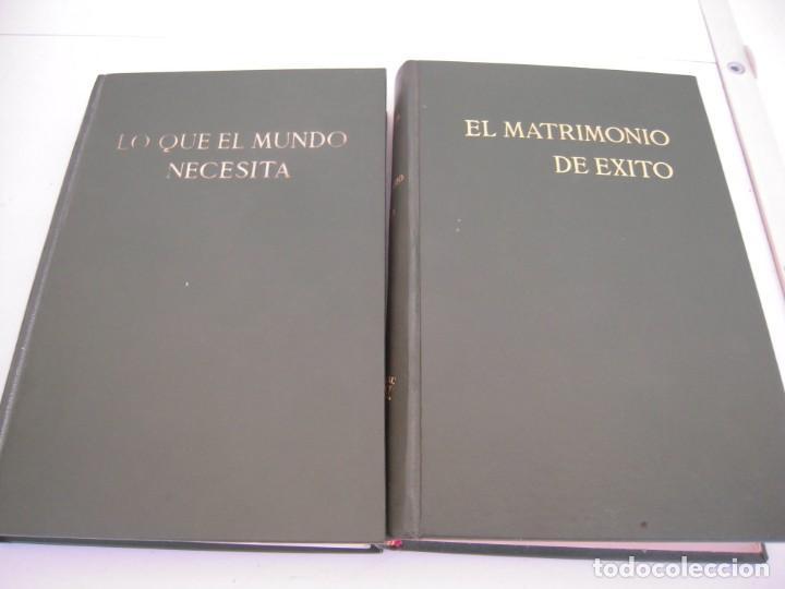 LOTE DE 2 LIBROS EL MATRIMONIO DE EXITO Y LO QUE EL MUNDO NECESITA (Libros de Segunda Mano - Enciclopedias)