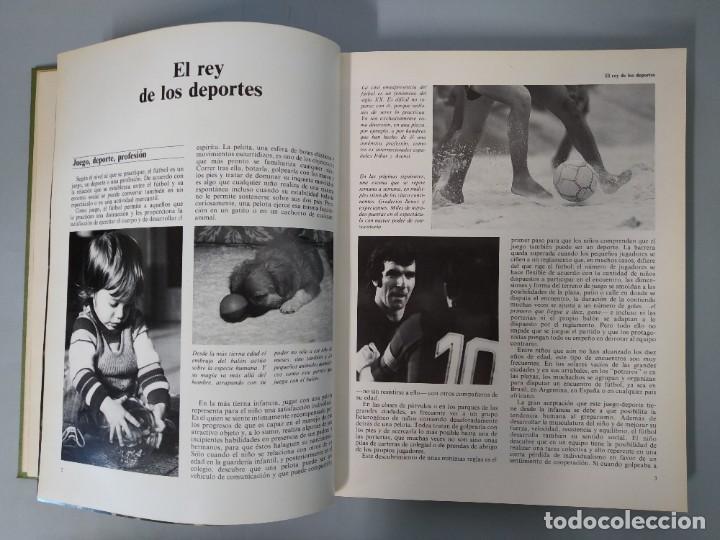 Enciclopedias de segunda mano: ENCICLOPEDIA MUNDIAL DEL FUTBOL - COMPLETA ( 6 TOMOS Y SUPLEMENTO) EDITORIAL OCÉANO,AÑO 1982..L1632 - Foto 34 - 212600222