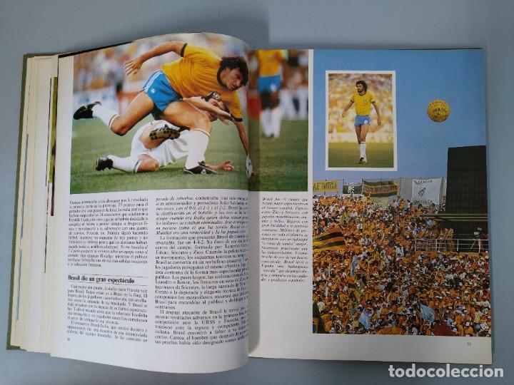 Enciclopedias de segunda mano: ENCICLOPEDIA MUNDIAL DEL FUTBOL - COMPLETA ( 6 TOMOS Y SUPLEMENTO) EDITORIAL OCÉANO,AÑO 1982..L1632 - Foto 41 - 212600222