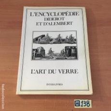 Enciclopedias de segunda mano: L'ENCYCLOPEDIE. Lote 213546706