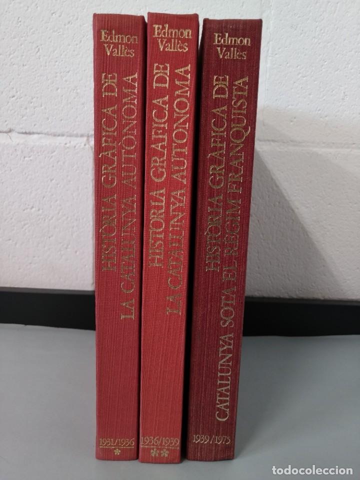 Enciclopedias de segunda mano: HISTORIA GRAFICA DE CATALUNYA - EDMON VALLES - 6 TOMOS - EDICIONS 62 S/A ...L1744 - Foto 18 - 213869362