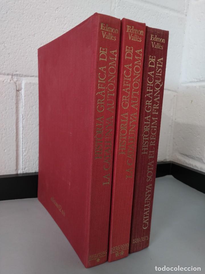 Enciclopedias de segunda mano: HISTORIA GRAFICA DE CATALUNYA - EDMON VALLES - 6 TOMOS - EDICIONS 62 S/A ...L1744 - Foto 19 - 213869362