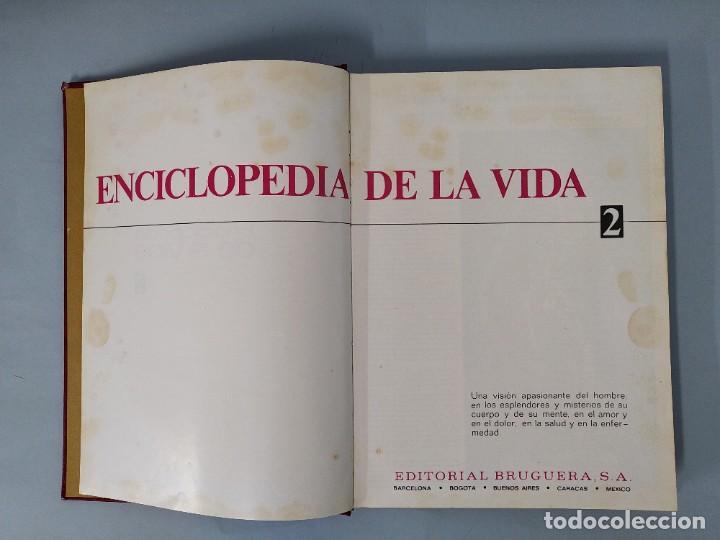 Enciclopedias de segunda mano: ENCICLOPEDIA DE LA VIDA - 5 TOMOS, COMPLETA - AÑO 1974 - ED. BRUGUERA ... L1746 - Foto 11 - 214079178