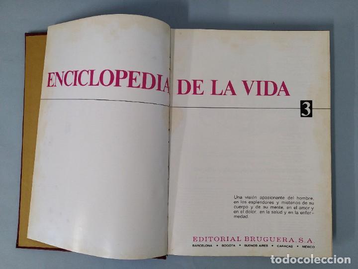 Enciclopedias de segunda mano: ENCICLOPEDIA DE LA VIDA - 5 TOMOS, COMPLETA - AÑO 1974 - ED. BRUGUERA ... L1746 - Foto 17 - 214079178