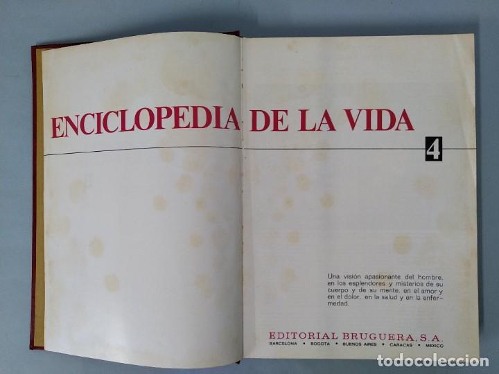 Enciclopedias de segunda mano: ENCICLOPEDIA DE LA VIDA - 5 TOMOS, COMPLETA - AÑO 1974 - ED. BRUGUERA ... L1746 - Foto 23 - 214079178
