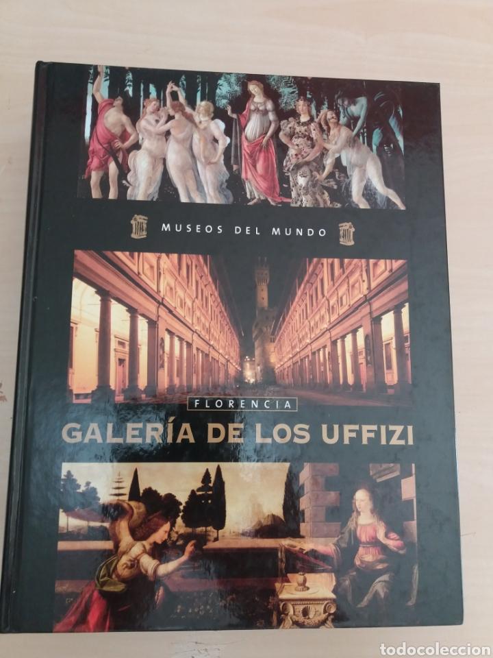 MUSEOS DEL MUNDO FLORENCIA GALERÍA DE LOS UFFIZI NÚMERO 3 (Libros de Segunda Mano - Enciclopedias)