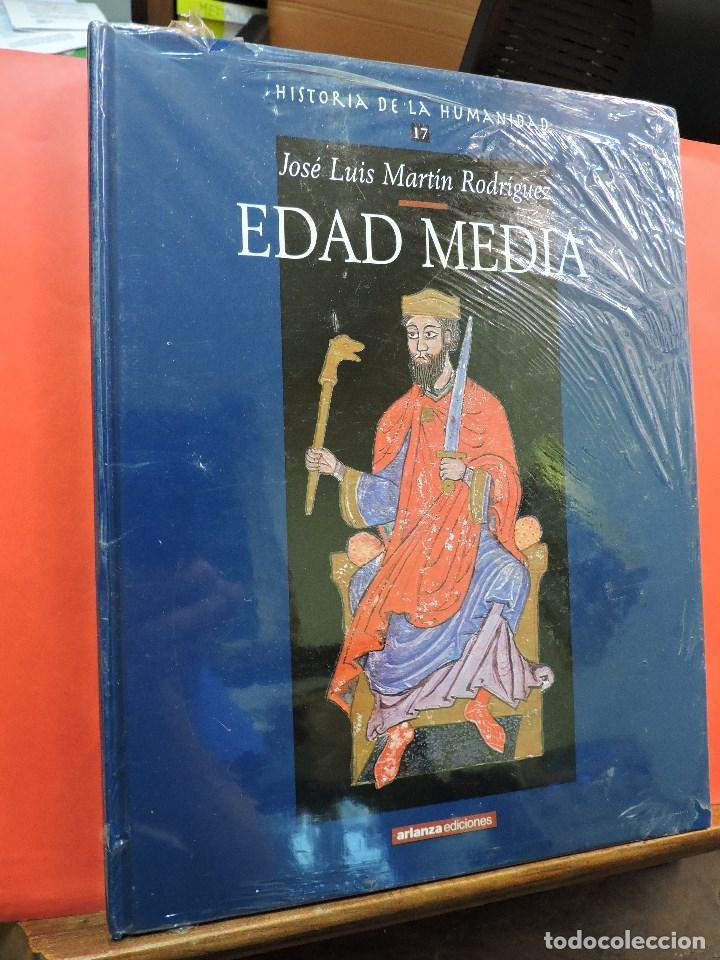 HISTORIA DE LA HUMANIDAD. EDAD MEDIA. Nº 17. MARTÍN RODRÍGUEZ, JOSÉ LUIS. EDICIONES ARLANZA. (Libros de Segunda Mano - Enciclopedias)