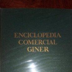 Enciclopedias de segunda mano: ENCICLOPEDIA COMERCIAL GINER. TOMO I. Lote 214531675
