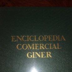 Enciclopedias de segunda mano: ENCICLOPEDIA COMERCIAL GINER. TOMO III. Lote 214532001