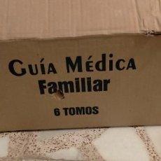 Enciclopedias de segunda mano: GUIA MÉDICA FAMILIAR. EDIT. CULTURAL. 6 TOMOS, NUEVA, SIN ESTRENAR. Lote 214938213