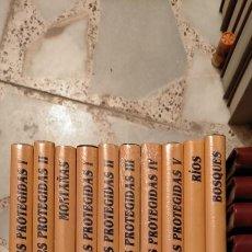 Enciclopedias de segunda mano: PATRIMONIO DE LA NATURALEZA. 1O TOMOS, NUEVOS, SIN ESTRENAR. PRECINTADOS. EDISEL GLC. Lote 214940900