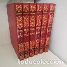 Enciclopedias de segunda mano: ENCICLOPEDIA HISTORIA DE ESPAÑA - MARQUES DE LOZOYA - 6 TOMOS. Lote 214988298