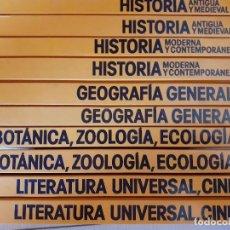 Enciclopedias de segunda mano: BIBLIOTECA ESTUDIANTIL PLANETA - COMPLETA 10 TOMOS - HISTORIA LITERATURA ZOOLOGIA. Lote 215200313