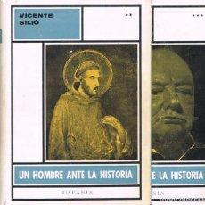 Enciclopedias de segunda mano: UN HOMBRE ANTE LA HISTORIA. TOMOS II Y III. Lote 215261123