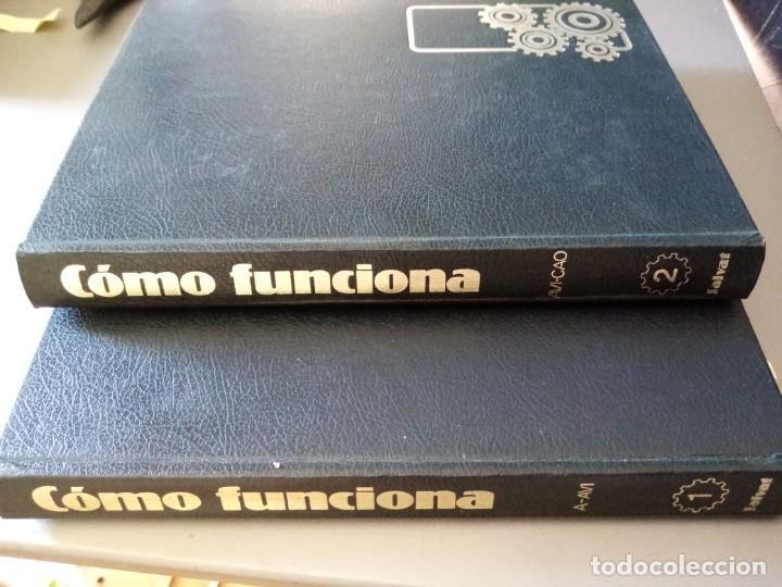 2 TOMOS. COMO FUNCIONA. ENCICLOPEDIA DE LA TÉCNICA. SALVAT (Libros de Segunda Mano - Enciclopedias)