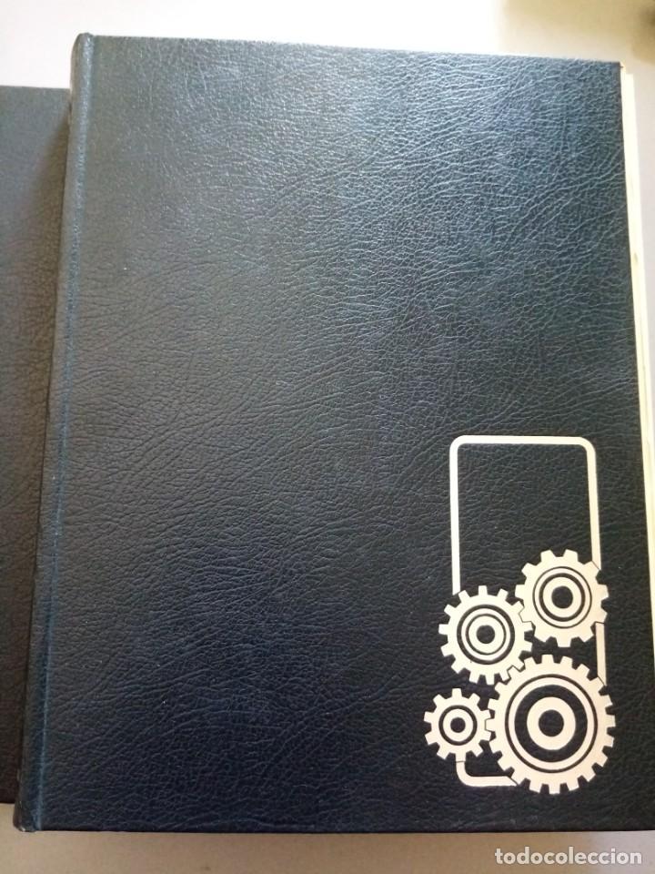 Enciclopedias de segunda mano: 2 tomos. Como funciona. Enciclopedia de la técnica. Salvat - Foto 2 - 215350560