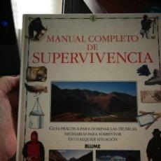 Livros em segunda mão: MANUAL COMPLETO DE SUPERVIVENCIA. HUGH MCMANNERS. Lote 216250555