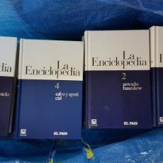 Enciclopedias de segunda mano: LA ENCICLOPEDIA SALVAT EL PAÍS 20 TOMOS. Lote 216357827