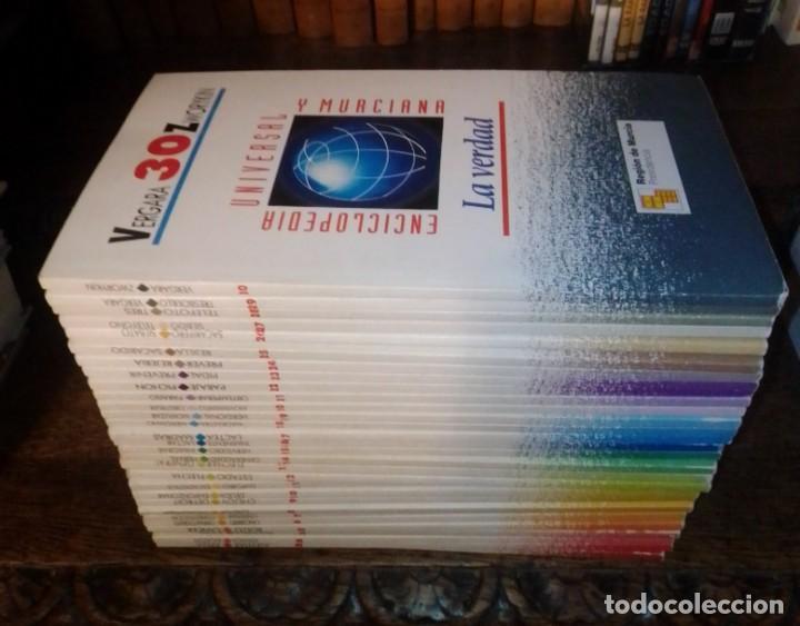 BIBLIOTECA UNIVERSAL Y MURCIANA. LA VERDAD. 1991. REGIÓN DE MURCIA. COMPLETA, 30 TOMOS. (Libros de Segunda Mano - Enciclopedias)