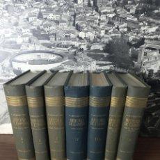Enciclopedias de segunda mano: HISTORIA DE ESPAÑA. RAMÓN MENENDEZ PIDAL. 7 TOMOS. TOMOS I*, I**, I***, II, III, IV Y VI. 1956.. Lote 216817567