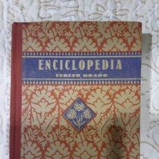 Livros em segunda mão: ENCICLOPEDIA ESCOLAR DE TERCER GRADO POR EDELVIVES EN 1940. Lote 216692902