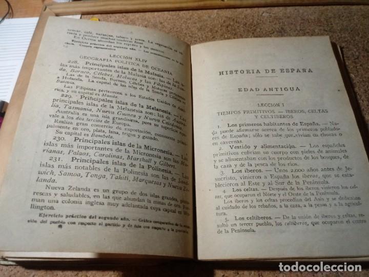 Enciclopedias de segunda mano: LIBRO DE LA ENCICLOPEDIA GRADO ELEMENTAL DEL AÑO 1946 MIRAR FOTOS SON LA DESCRIPCIÓN - Foto 4 - 217186607
