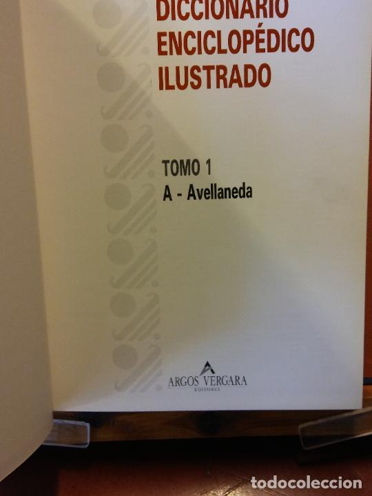 Enciclopedias de segunda mano: DICCIONARIO ENCICLOPÉDICO ILUSTRADO. ARGOS VERGARA, EDITORES. 6 TOMOS. - Foto 2 - 217674192