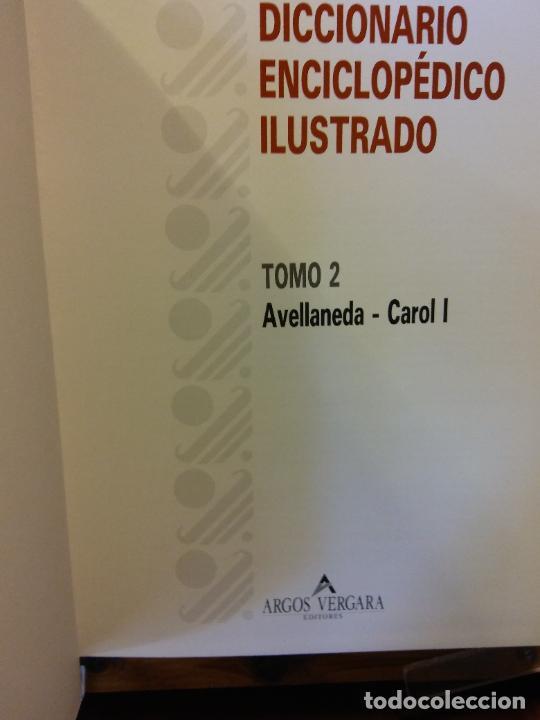 Enciclopedias de segunda mano: DICCIONARIO ENCICLOPÉDICO ILUSTRADO. ARGOS VERGARA, EDITORES. 6 TOMOS. - Foto 3 - 217674192