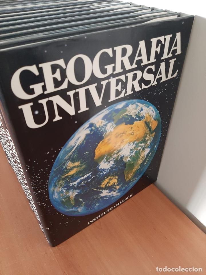 Enciclopedias de segunda mano: ENCICLOPEDIA GEOGRAFÍA UNIVERSAL - Foto 2 - 217853557