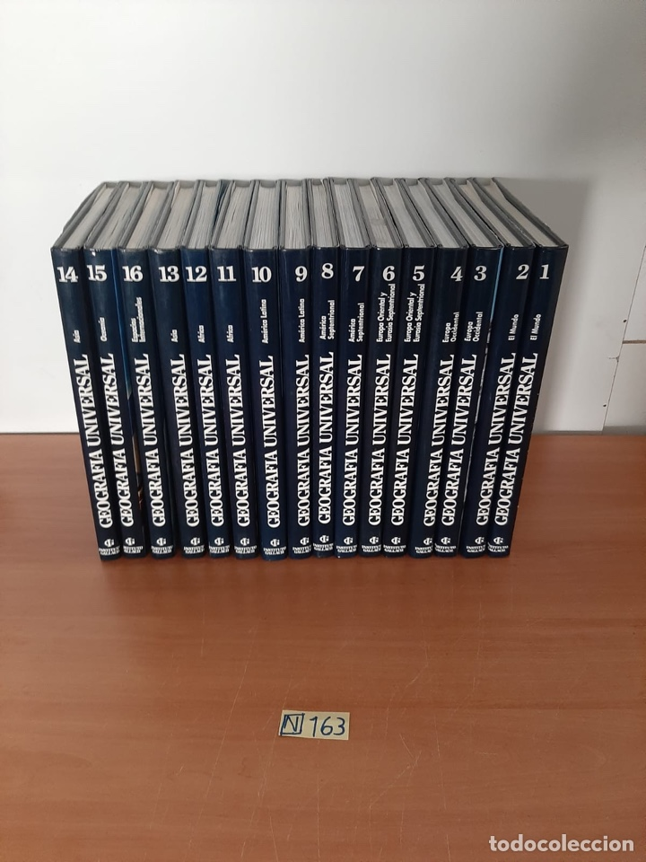 ENCICLOPEDIA GEOGRAFÍA UNIVERSAL (Libros de Segunda Mano - Enciclopedias)