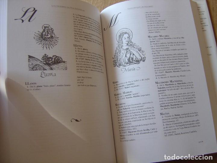 Enciclopedias de segunda mano: LOS NOMBRES DE PILA ESPAÑOLES. C. GARCÍA GALLARÍN. EDICIONES DEL PRADO. 1ª EDICIÓN 1998. - Foto 7 - 218013061