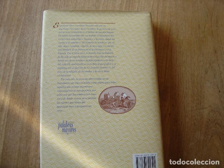 Enciclopedias de segunda mano: LOS NOMBRES DE PILA ESPAÑOLES. C. GARCÍA GALLARÍN. EDICIONES DEL PRADO. 1ª EDICIÓN 1998. - Foto 9 - 218013061