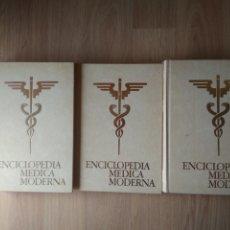 Libri di seconda mano: ENCICLOPEDIA MÉDICA MODERNA EDITADO E IMPRESO POR EDICIONES ITERAMERICANAS. 3 TOMOS 1981. Lote 218612248