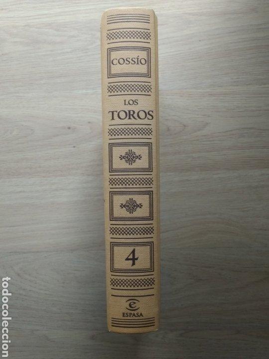 Enciclopedias de segunda mano: libro Cossío, los toros. EL Toreo tomo nº 4 Editorial espasa 2007 - Foto 2 - 218613416