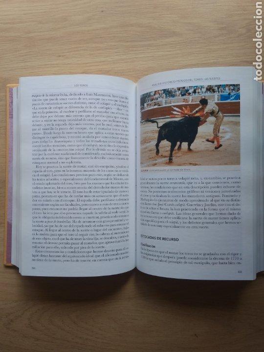 Enciclopedias de segunda mano: libro Cossío, los toros. EL Toreo tomo nº 4 Editorial espasa 2007 - Foto 3 - 218613416