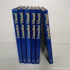 Enciclopedias de segunda mano: CONSULTOR VISUAL - 6 TOMOS. Lote 218628348