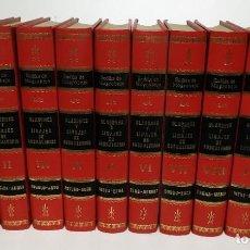 Enciclopedias de segunda mano: BLASONES Y LINAJES DE EUSKALERRIA - 10 TOMOS - ENDIKA MOGROBEJO. Lote 218629420