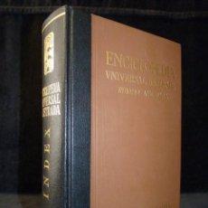 Livres d'occasion: ENCICLOPEDIA UNIVERSAL ILUSTRADA EUROPEO AMERICANA. ESPASA CALPE. INDEX SUPLEMENTOS 1934-1980. Lote 218760135