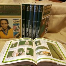 Enciclopedias de segunda mano: ENCICLOPEDIA PUNTO Y COSTURA EN 8 VOLUMENES + PATRONAJE. Lote 219130017