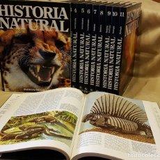 Enciclopedias de segunda mano: COLECCION TEMATICA HISTORIA NATURAL EN 12 VOLUMENES. Lote 219130607