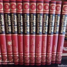 Enciclopedias de segunda mano: ENCICLOPEDIA MARAVILLAS DEL SABER. CREDSA. Lote 219265535