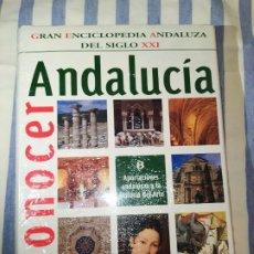 Livres d'occasion: GRAN ENCICLOPEDIA ANDALUZA DEL S.XXI, CONOCER ANDALUCÍA,TOMO 8. Lote 219346061