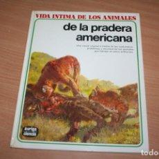 Enciclopedias de segunda mano: LIBRO VIDA INTIMA DE LOS ANIMALES AURIGA CIENCIA PRECIO POR UNIDAD POR TOMO. Lote 219366568