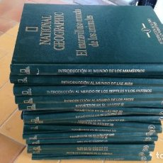 Enciclopedias de segunda mano: EL MARAVILLOSO MUNDO DE LOS ANIMALES - NATIONAL GEOGRAPHIC 17 TOMOS COMPLETA. Lote 219442651