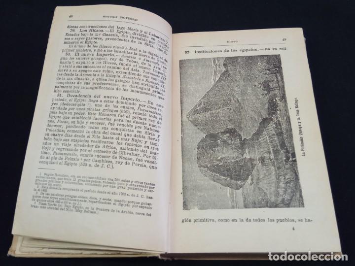 Enciclopedias de segunda mano: HISTORIA UNIVERSAL CALLEJA 1926 - Foto 3 - 219525155