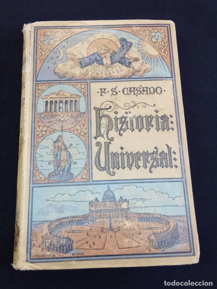 HISTORIA UNIVERSAL CALLEJA 1926 (Libros de Segunda Mano - Enciclopedias)