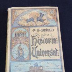 Livros em segunda mão: HISTORIA UNIVERSAL CALLEJA 1926. Lote 219525155