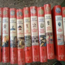 Livres d'occasion: ENCICLOPEDIA PLANETA LAROUSSE HISTORIA DE LAS CIVILIZACIONES 10 VOLUMENES. Lote 220740397